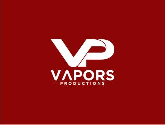 VAPORS PRODUCTIONS logo design