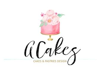 ACakes logo design