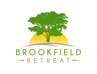 Brookfield Retreat logo design