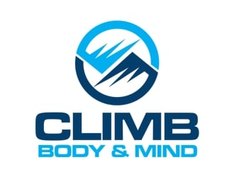 Climb: Body and Mind logo design