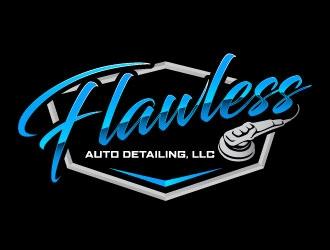 Flawless Auto detailing, LLC logo design