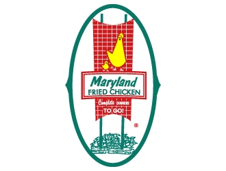 maryland fried chicken logo design 48hourslogo com