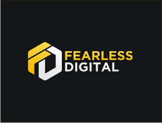 Fearless Digital logo design