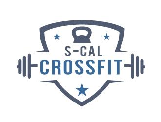 S-CAL CROSSFIT logo design