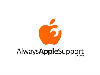 AlwaysAppleSupport.com logo design