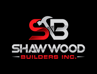 Shawwood Builders Inc. logo design