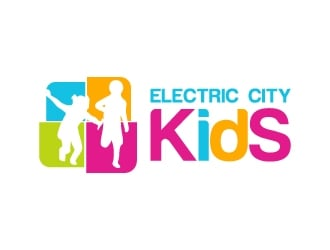 Electric City Kids logo design