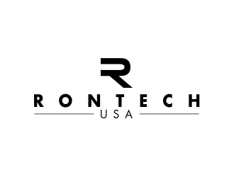Rontech USA logo design