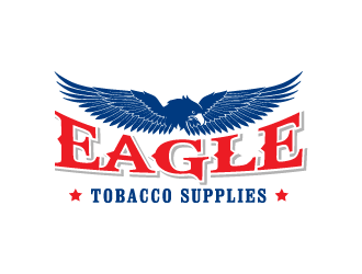 Eagle Tobacco Supplies logo design