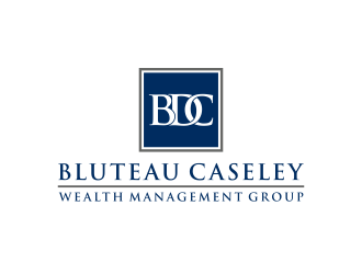 Bluteau Caseley Wealth Management Group logo design