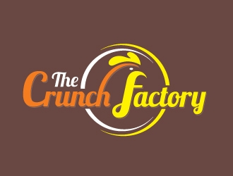 The Crunch Factory logo design