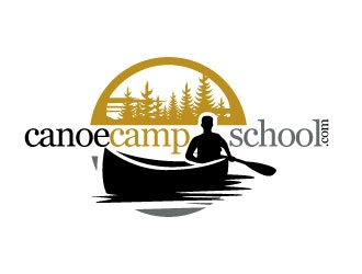 canoecampschool.com logo design