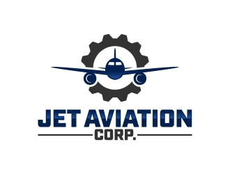 Jet Aviation Corp. logo design