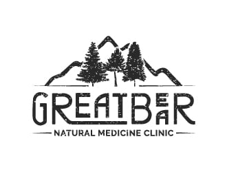Great Bear Natural Medicine Clinic logo design