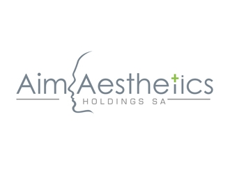 Aim Aesthetics Holdings SA logo design