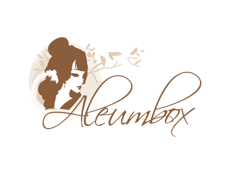 Aleumbox logo design