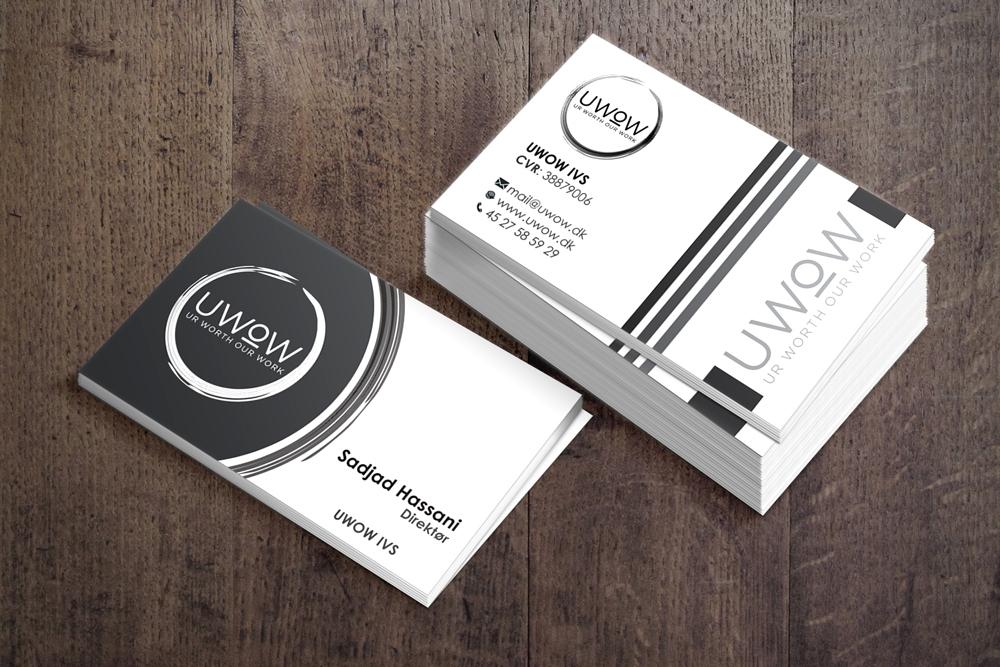 UWOW - Ur Worth Our Work logo design