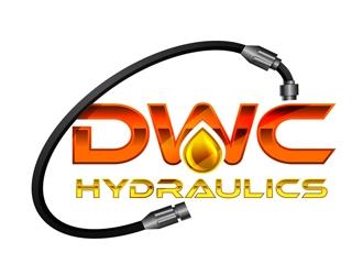 DWC Hydraulics logo design