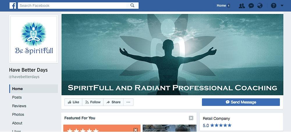 Be Spiritfull logo design
