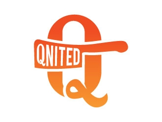 Qnited logo design