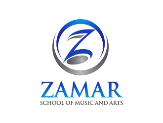 Zamar School of Music and Arts logo design