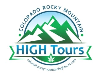 Colorado Rocky Mountain HIGH Tours logo design