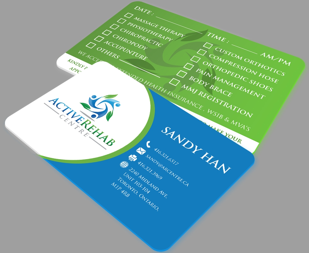 Active Rehab Clinic logo design