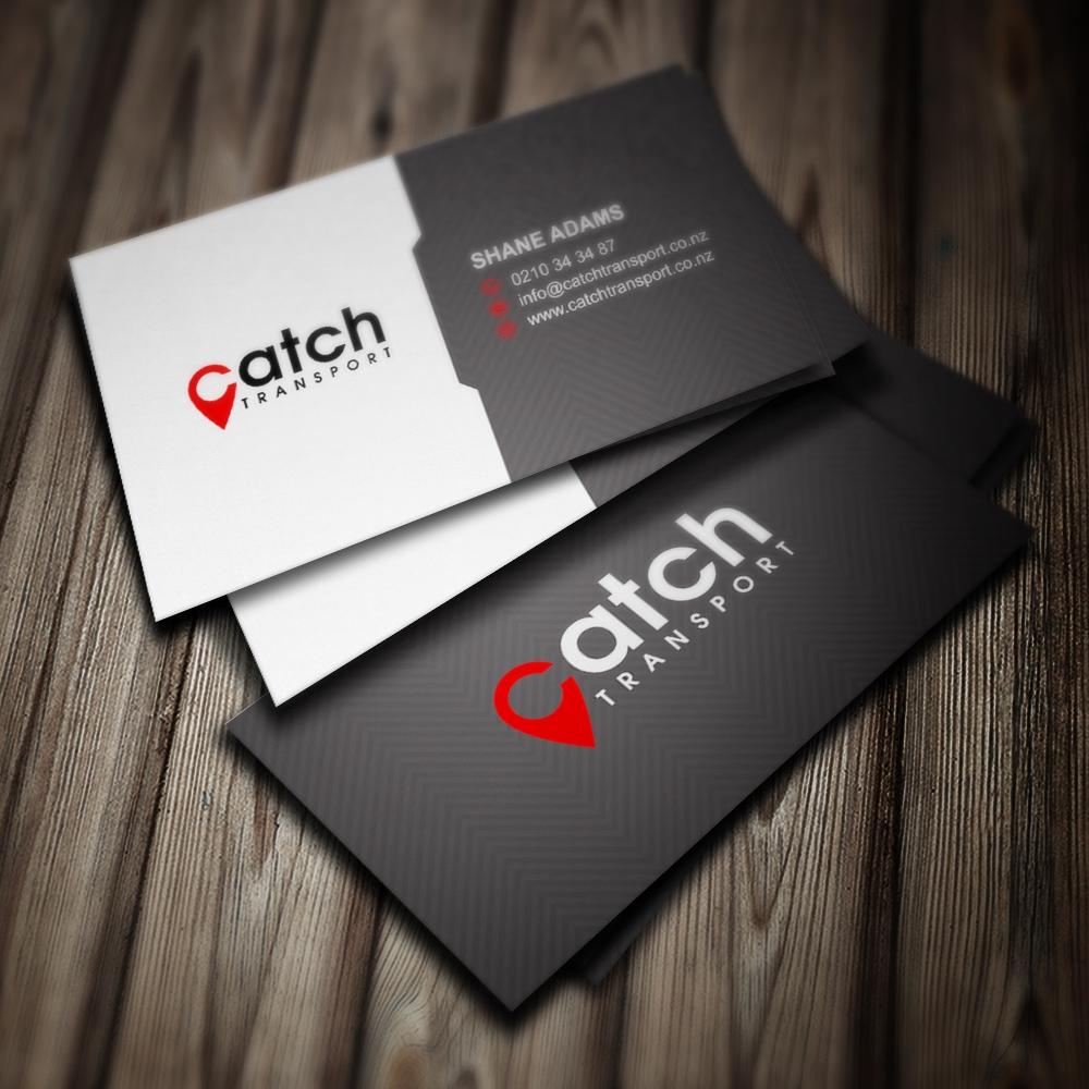 Catch Transport logo design