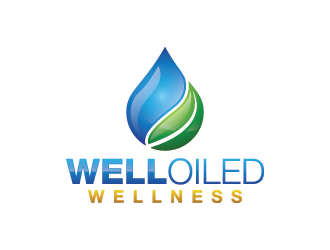 Well Oiled Wellness logo design
