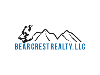 Bear Crest Realty, LLC logo design