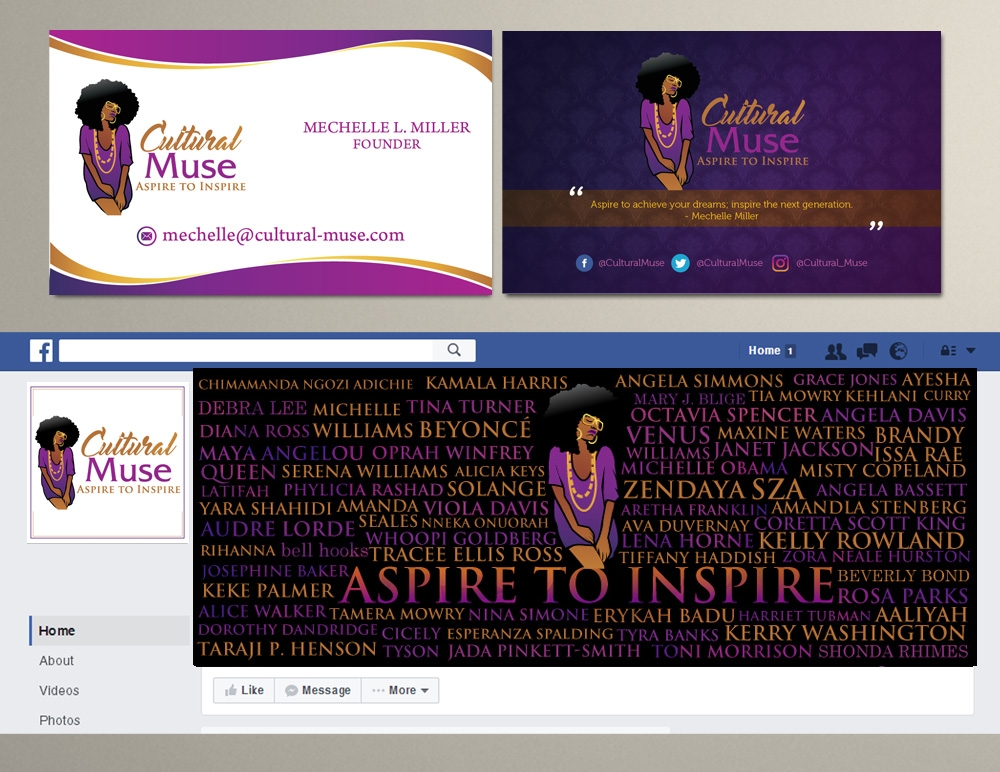 Cultural-Muse logo design