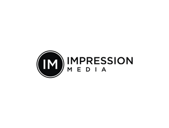 Impression Media logo design