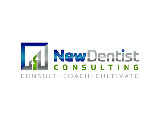 New Dentist Consulting logo design