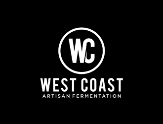 West Coast Artisan Fermentation  logo design