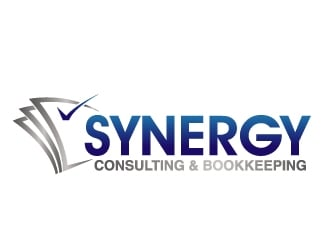 Synergy Consulting & Bookkeeping  logo design