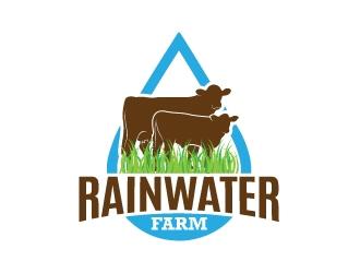 Rainwater Farm logo design
