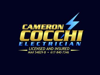 Cameron Cocchi  electrician logo design