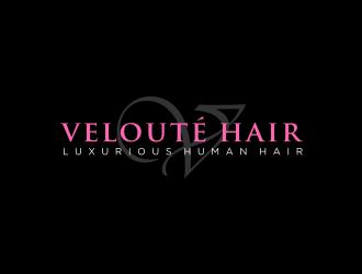 Velouté Hair  logo design