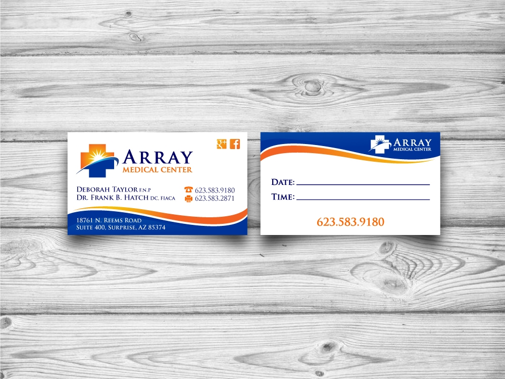 Array Medical Center  logo design