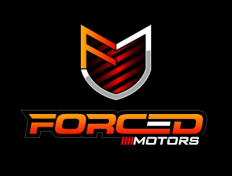 Forced Motors logo design