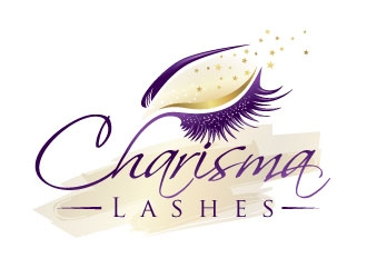 Charisma Lashes logo design