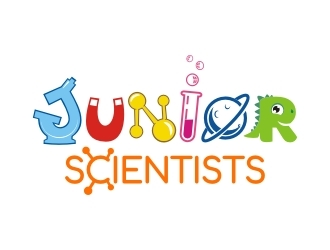 Junior Scientists  logo design