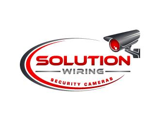 Solution Wiring logo design