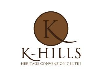 K- hills  logo design