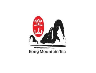 Kong Mountain Tea logo design