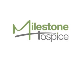 Milestone Hospice logo design