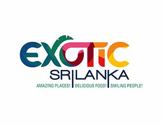 Exotic Sri Lanka logo design