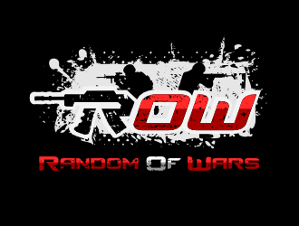 Random of Wars logo design