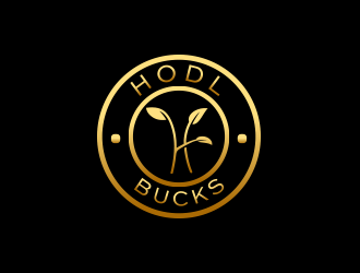 HODL Bucks logo design