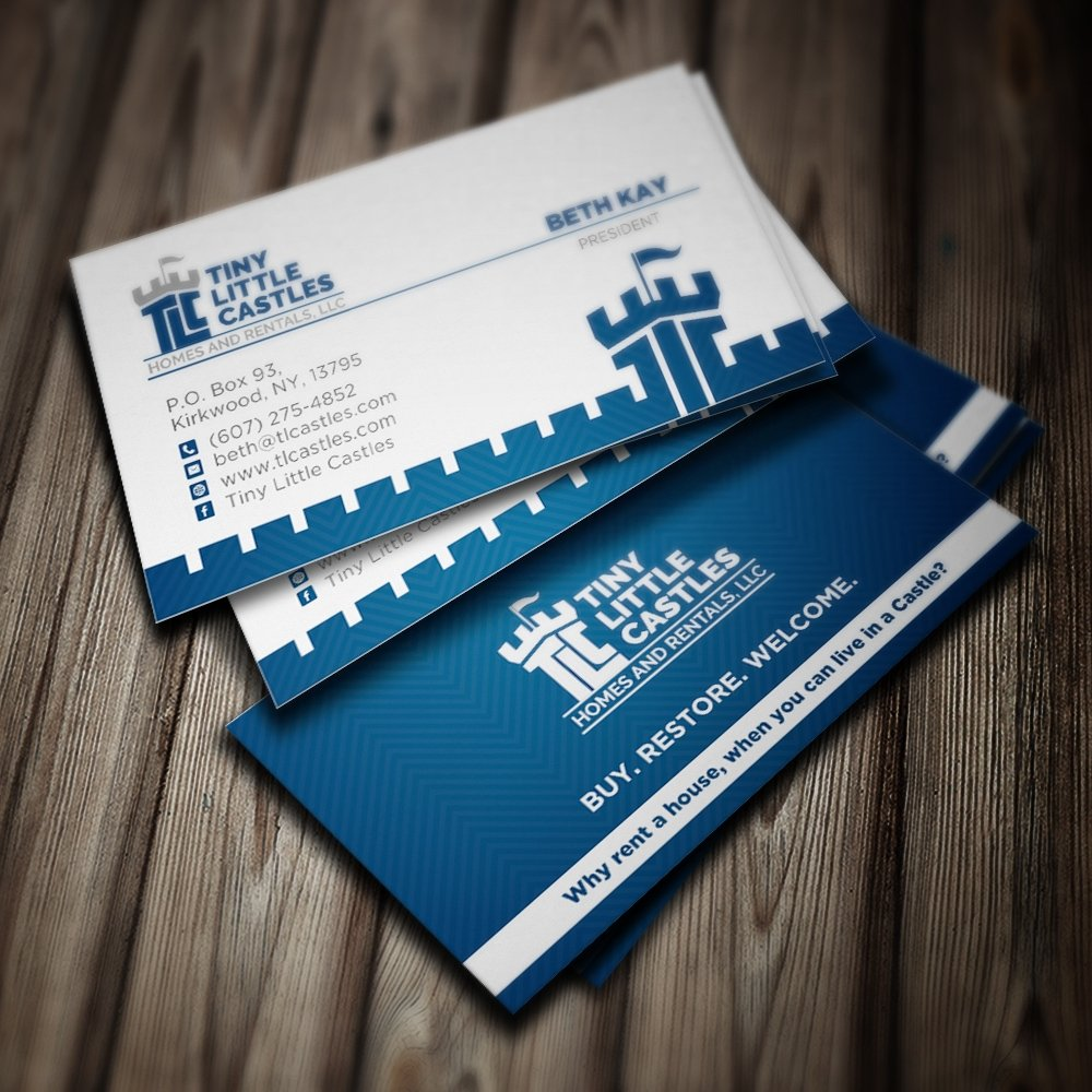 TLC (Tiny Little Castles) Homes and Rentals, LLC brand identity ...